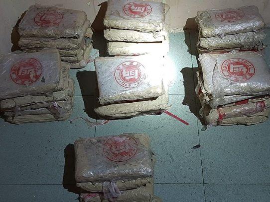 Decomisan 33 paquetes con sustancia ilícita en un apartamento en la ciudad capital