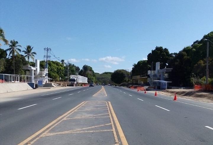 Hoy se hará la instalación de cercha metálica del puente peatonal en Las Guías de Oriente