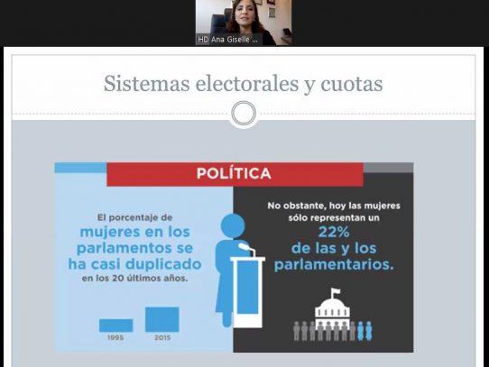 Mujeres y liderazgo: La Democracia y el desafío de cambio