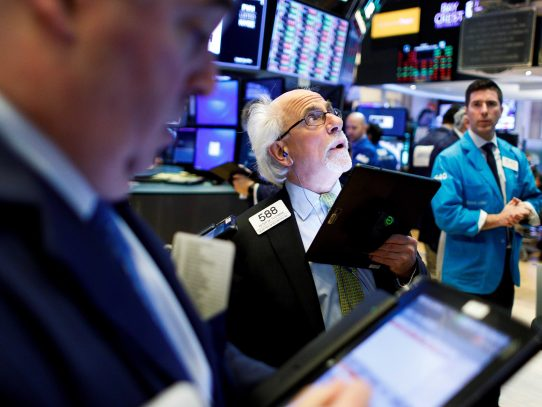 Hoy Wall Street abrió en verde y el Dow Jones subió 0,48 %