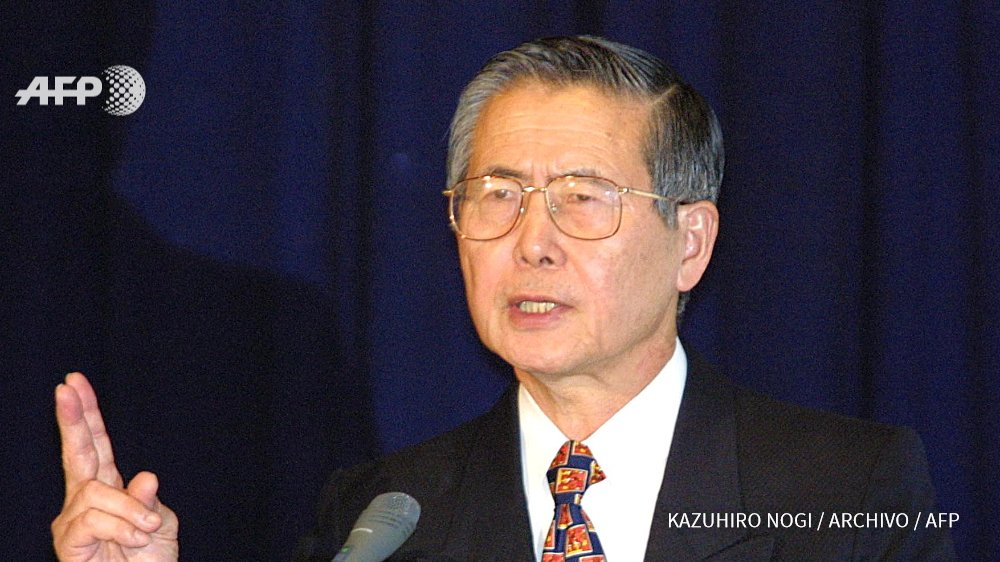 Expresidente Fujimori de Perú, hospitalizado por problemas respiratorios