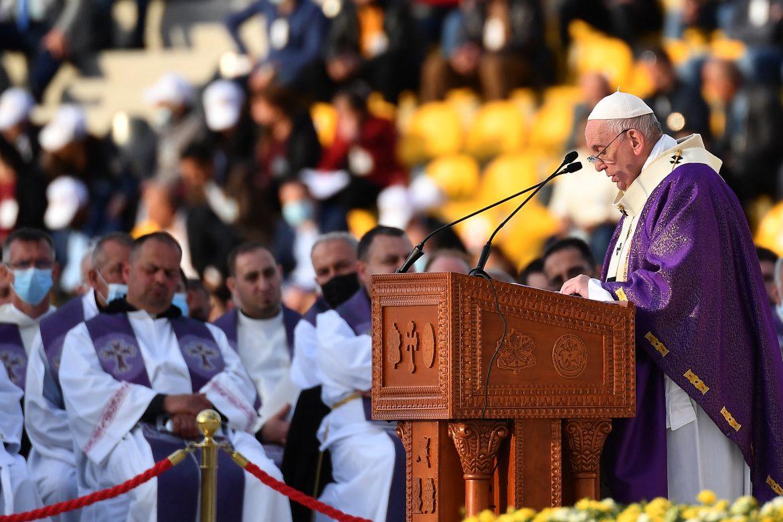 El papa Francisco concluyó su visita histórica a Irak