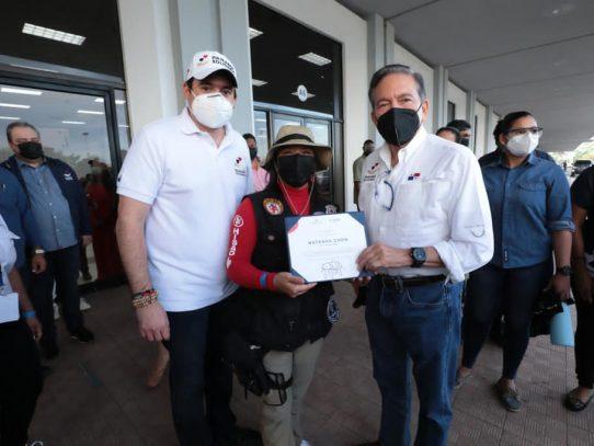 Cortizo felicitó a los 6,700 voluntarios que han empacado 7.3 millones de bolsas de comida