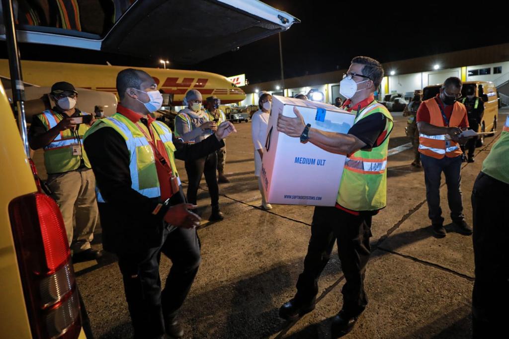 Panamá recibió  quinto lote de vacunas Pfizer
