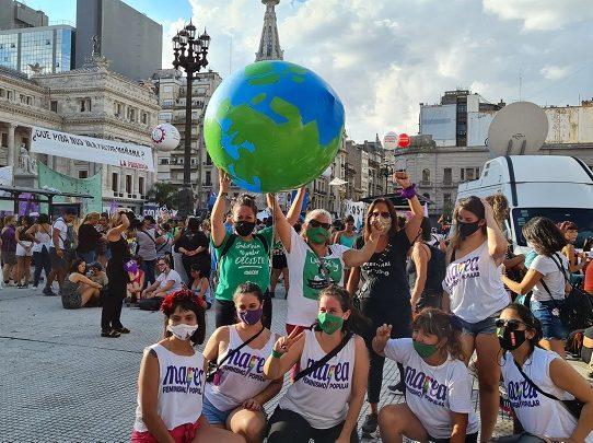 Marchas contra la violencia machista en Argentina en Día de la Mujer