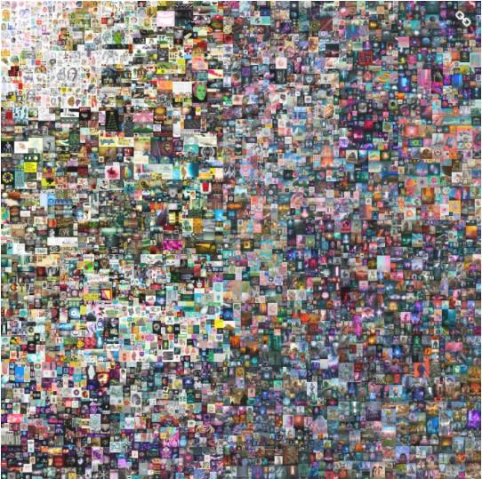 Una obra completamente digital se vende por USD 69,3 millones