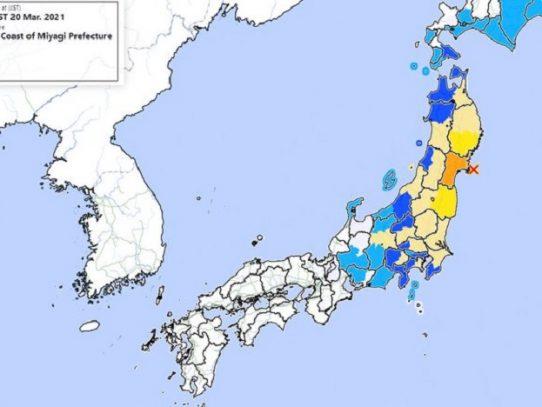 Japón levanta alerta de tsunami tras fuerte sismo