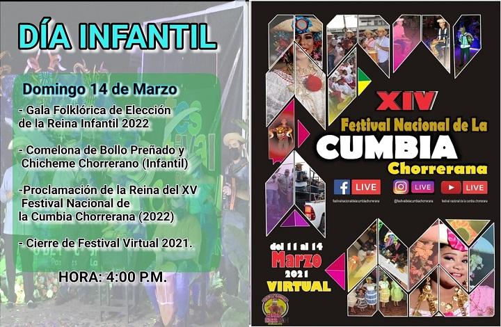 XIV Festival Nacional de la Cumbia Chorrerana del 11 al 14 de marzo