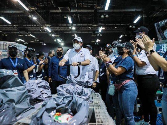 Gobierno: Acto en Atlapa fue reconocimiento a los voluntarios y no de un baile