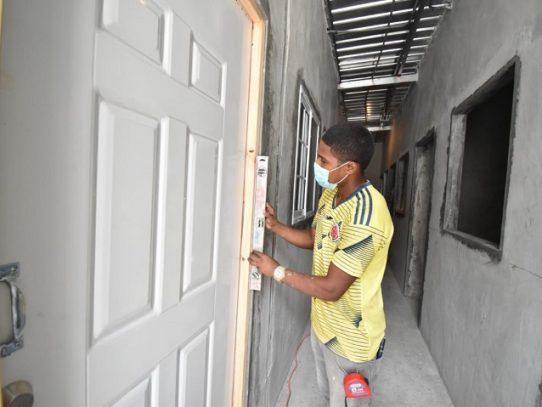 Reconstrucción de albergue Patio Rochet en Curundú supera 70% de avance