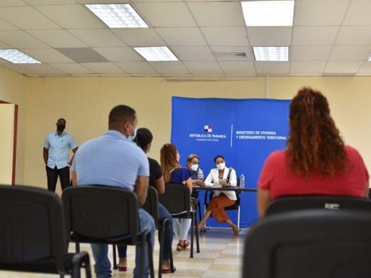 Brindan alternativa de lotificación a los afectados por deslizamiento en Samaria