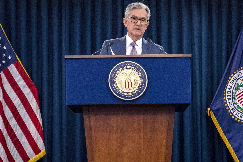 Declaraciones de Powell llevaron a Wall Street a terminar en fuerte baja