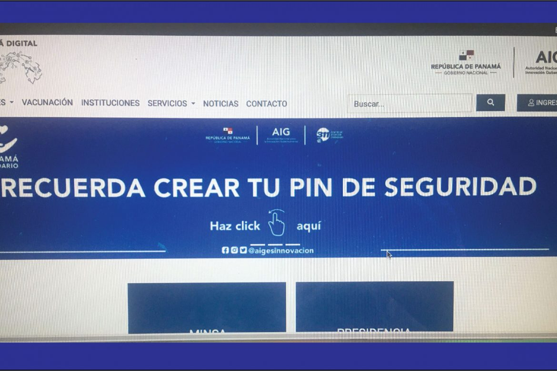 Proteja su Vale Digital con el PIN de seguridad