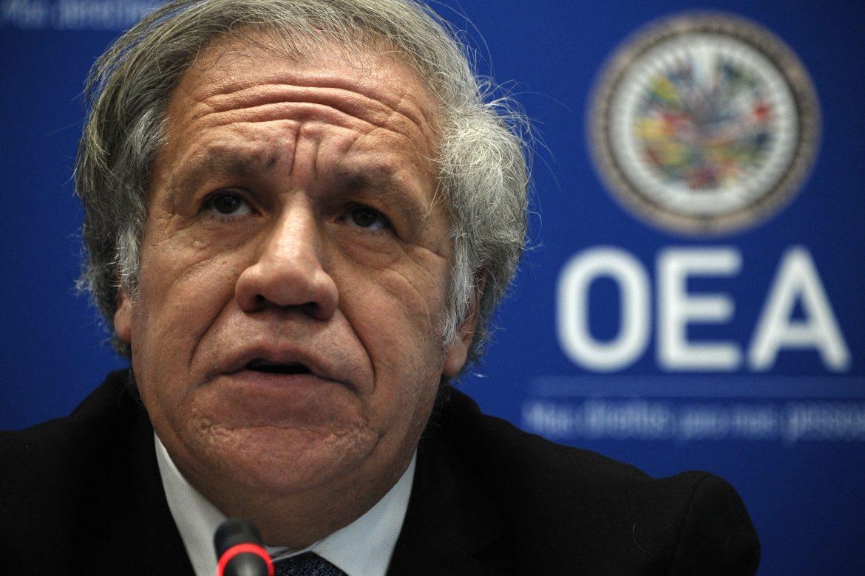 """Almagro pide """"compromiso más fuerte"""" de EE.UU. con Latinoamérica y el Caribe"""