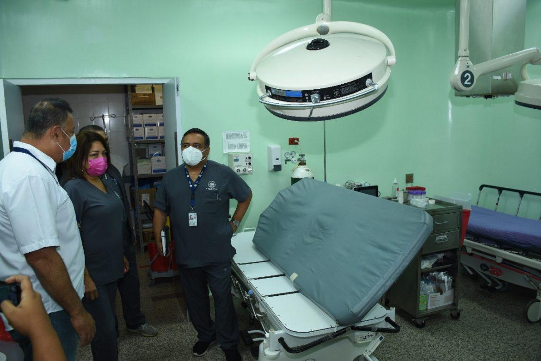 Instalado Hospital Campaña en Aguadulce