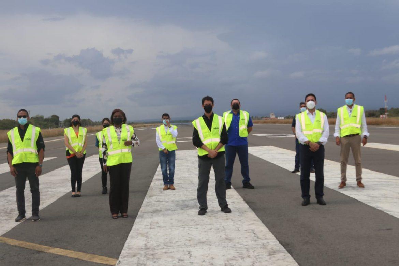 Autoridades de la ATP realizaron un recorrido por Riviera Pacífica y comunidades adyacentes
