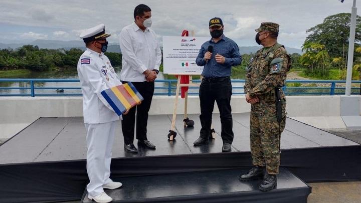 Ministros de Seguridad de Panamá y Costa Rica hablan sobre seguridad fronteriza