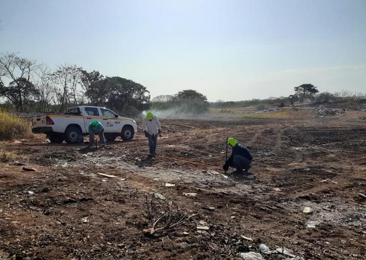 Autoridad de Aseo continúa trabajos de adecuación en el vertedero de Pedasí