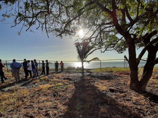 Buscan establecer base policial costera en San Carlos