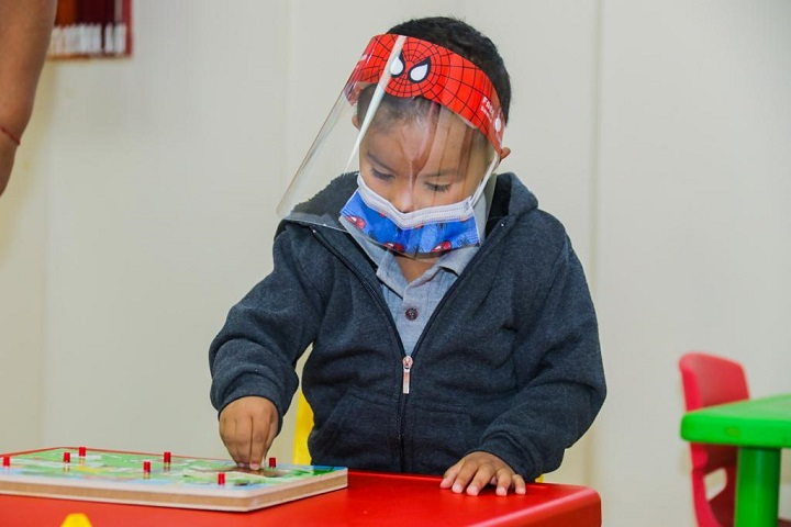 La apertura de los CAIPI ha permitido que más 600 menores de edad reciban estimulación temprana