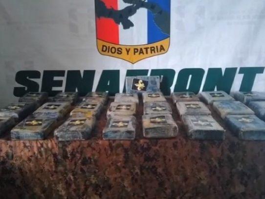 Encuentran 25 paquetes con droga en El Porvenir, Guna Yala