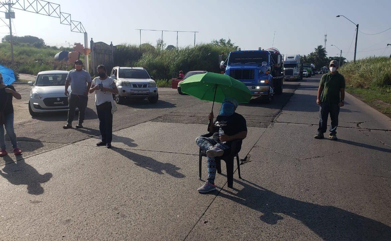 Reportan cierre de vía en Vacamonte, Arraiján