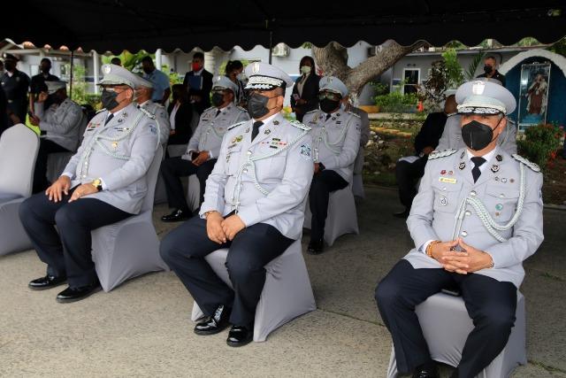 Policía Nacional realiza cambios de mandos en la institución