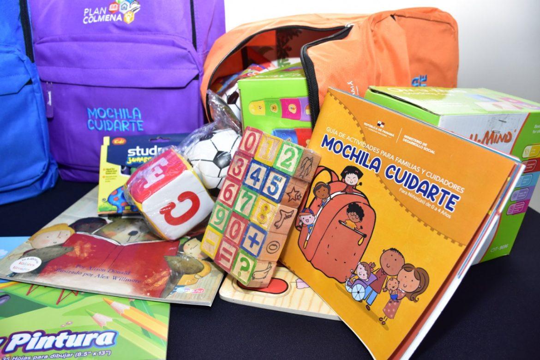 Gobierno distribuirá mochilas para estimulación de niños en áreas apartadas