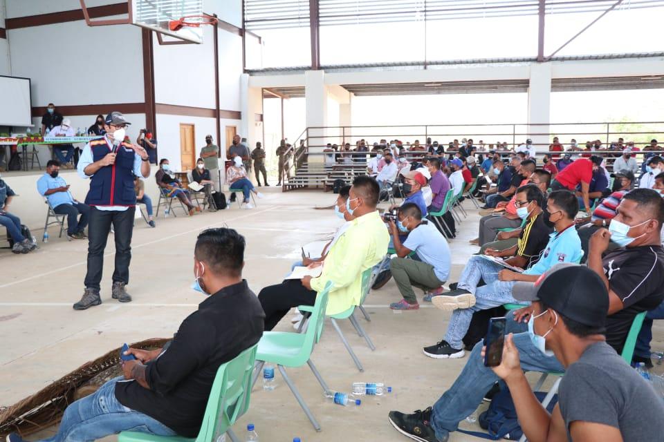 Defensoría del Pueblo será garante de acuerdos entre el gobierno y la comarca Emberá-Wounaan