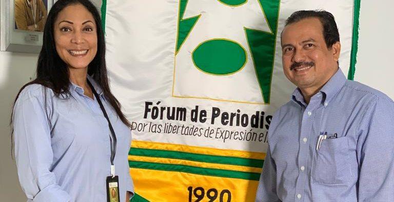 Alejandra Araúz: nueva presidente del Fórum de Periodistas
