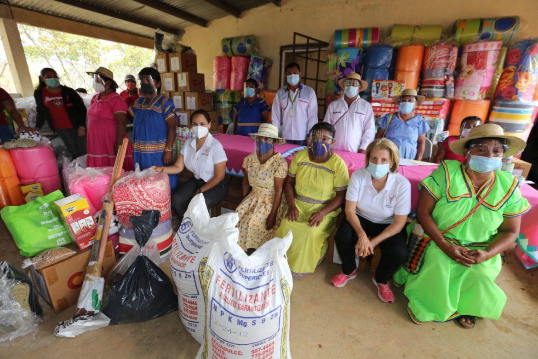 Ayuda social a la comarca Ngäbe-Buglé