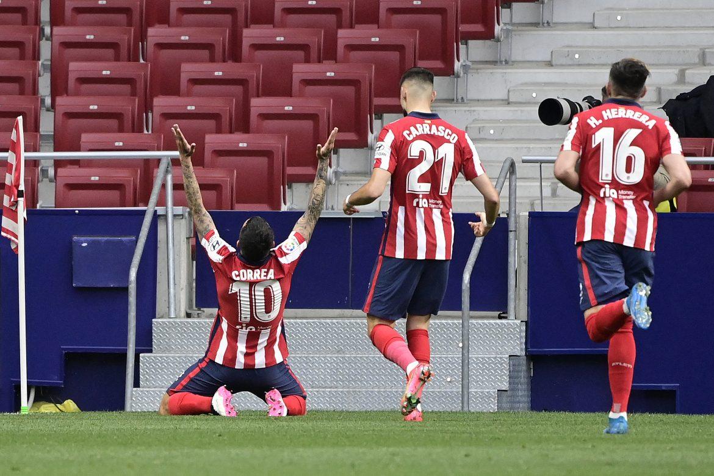 El Atlético Madrid vuelve al liderato y el Barça golea al Geta