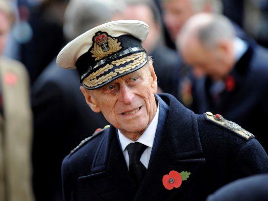 Falleció el duque de Edimburgo, marido de la reina Isabel II