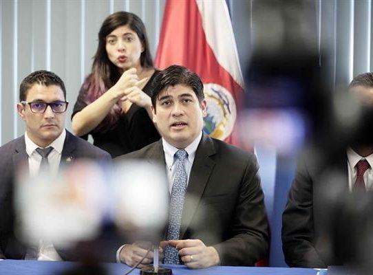 La SIP señala la falta de rendición de cuentas del Gobierno en Costa Rica