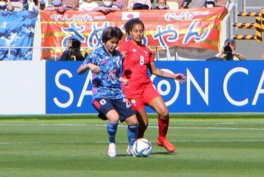 Selección femenina de Panamá cayó 7-0 en partido amistoso contra Japón