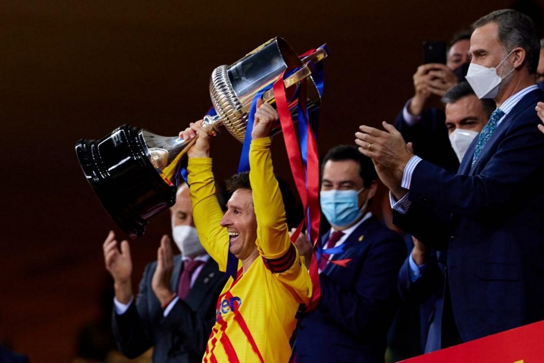 """Es muy especial levantar esta Copa"", afirma Messi"