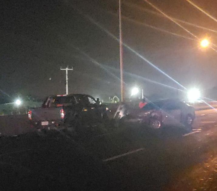 Aparatoso accidente en autopista Arraiján-La Chorrera deja una víctima fatal