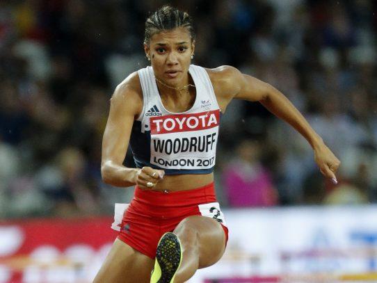 La corredora Gianna Woodruff se sumó a la delegación panameña para Tokio 2020