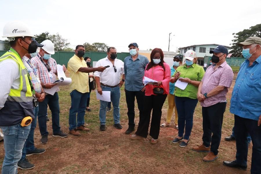 Comisión legislativa constata avances de obras en Panamá Oeste