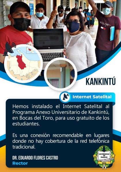 Instalan internet satelital en el Programa Anexo de Kankintú