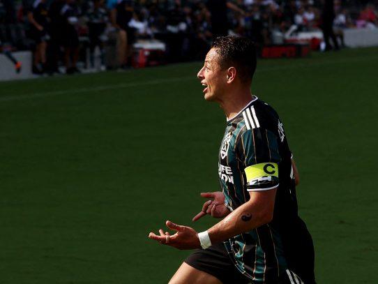El 'Chicharito' Hernández elegido Jugador de la Semana en la MLS