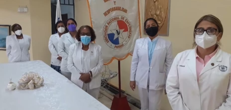 Ante la dilatada espera, enfermeras se decidieron por paro de labores