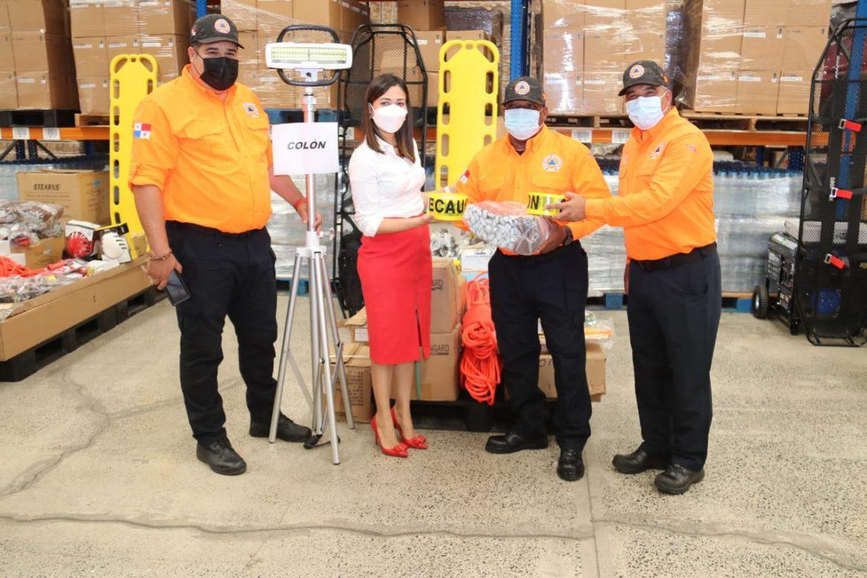 Herramientas de rescate recibe el Sinaproc