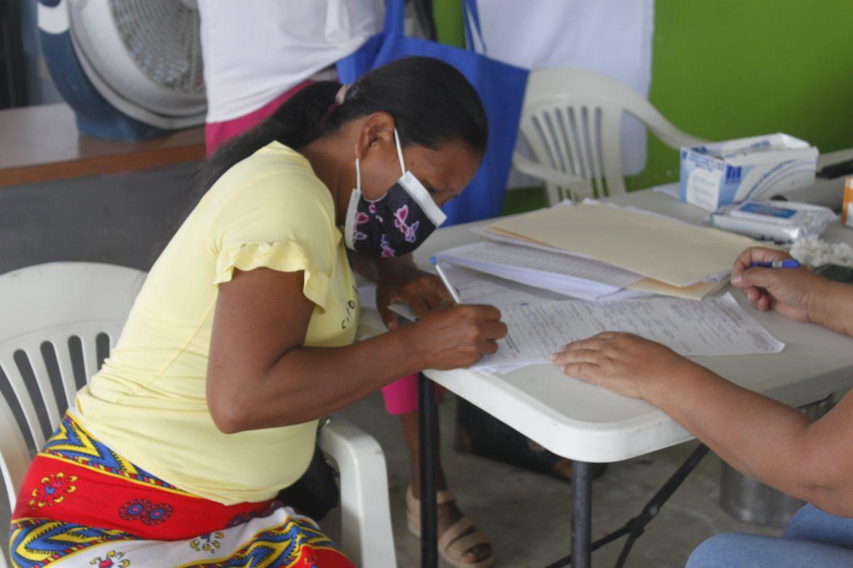 Onpar actualizará documentos a más de 100 refugiados en Darién y Guna Yala