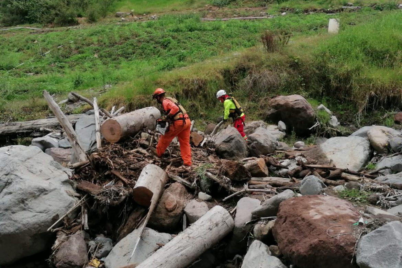 Familias afectadas por las lluvias reciben ayuda humanitaria