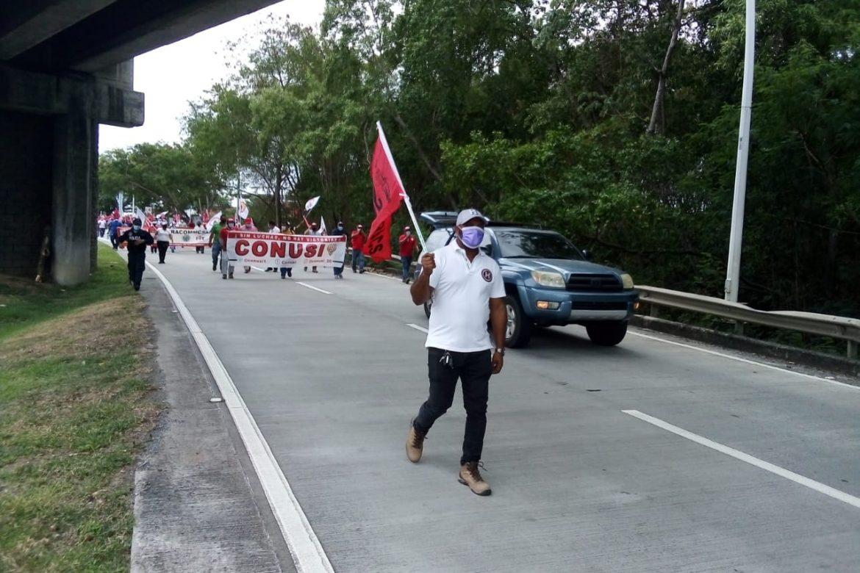 SUNTRACS y CONUSI protestan por segunda semana consecutiva