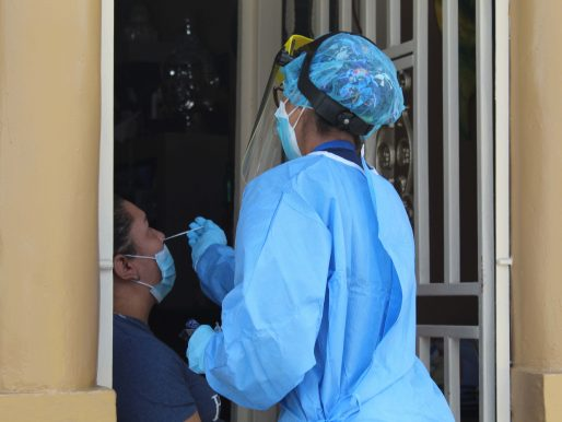 Región de Salud de San Miguelito retomó pruebas de hisopado