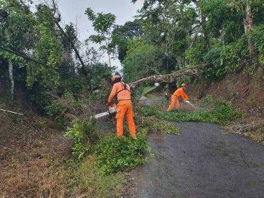 Lluvias continuarán hasta el 21 de abril en región occidental del país