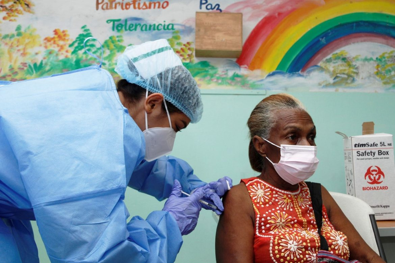 La vacunación en el distrito de  San Miguelito será hasta mañana jueves
