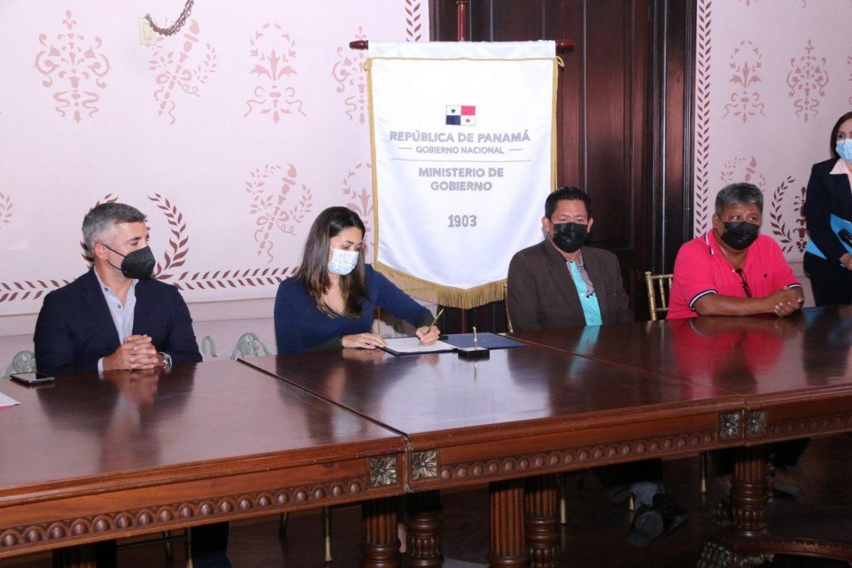 Instalan comisión para dar respuestas a necesidades de la Comarca Emberá-Wounaan
